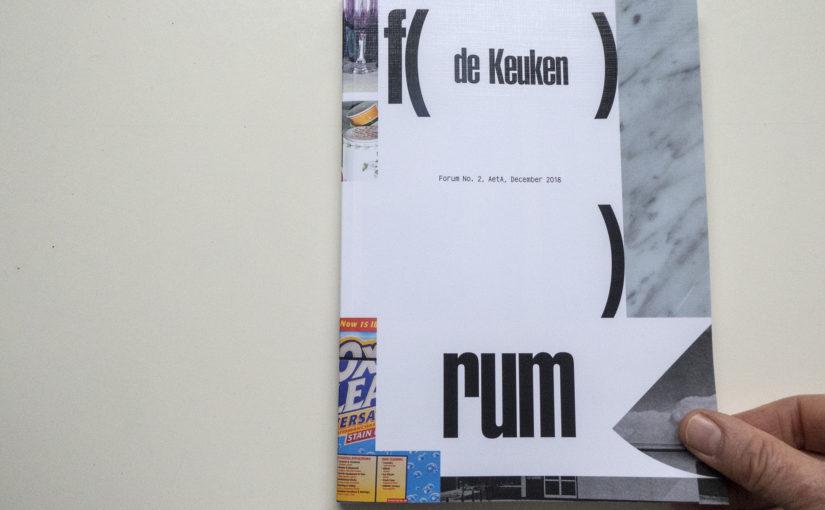 NIEUWS: publicatie in FORUM#2